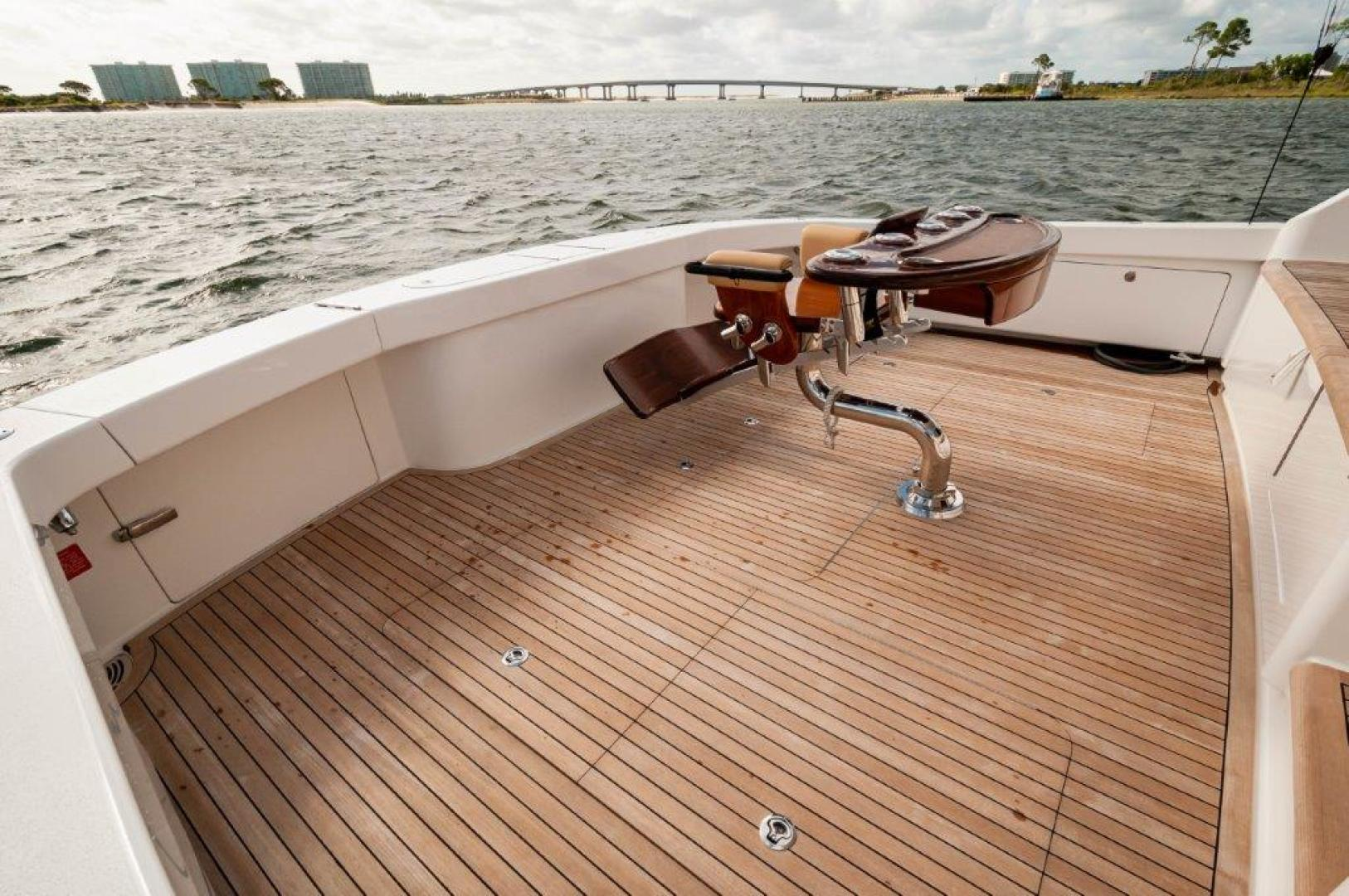 Viking-72 Enclosed Bridge 2017-SHARE E Orange Beach-Alabama-United States-2017 72 EB Viking SHARE-E Cockpit-1233220 | Thumbnail