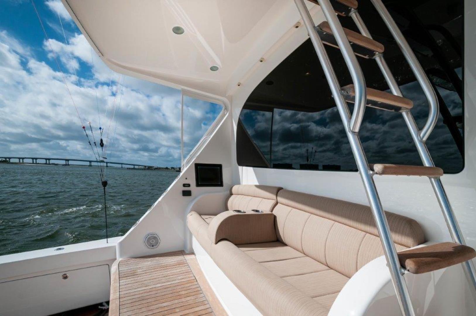 Viking-72 Enclosed Bridge 2017-SHARE E Orange Beach-Alabama-United States-2017 72 EB Viking SHARE-E Cockpit-1233216 | Thumbnail