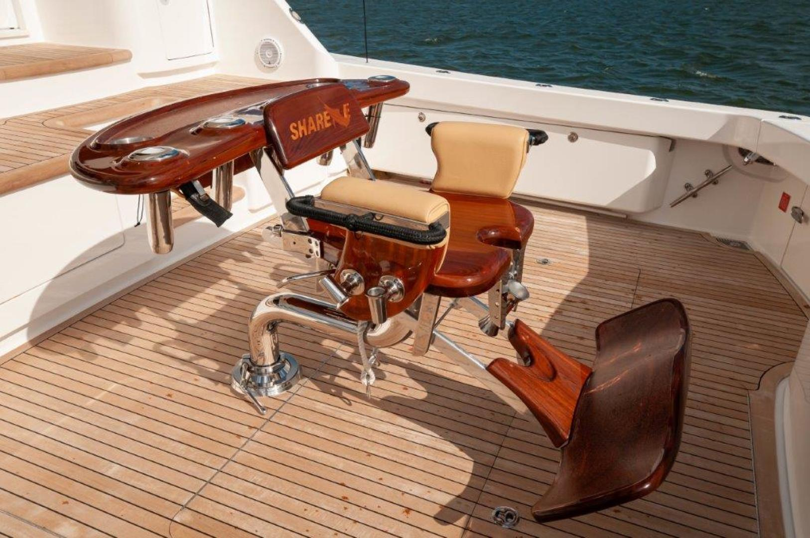 Viking-72 Enclosed Bridge 2017-SHARE E Orange Beach-Alabama-United States-2017 72 EB Viking SHARE-E Cockpit-1233218 | Thumbnail