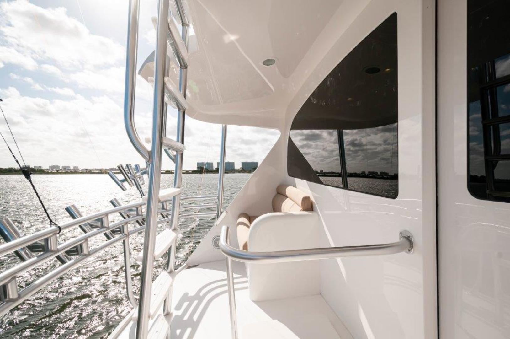 Viking-72 Enclosed Bridge 2017-SHARE E Orange Beach-Alabama-United States-2017 72 EB Viking SHARE-E Aux Helm-1233238 | Thumbnail