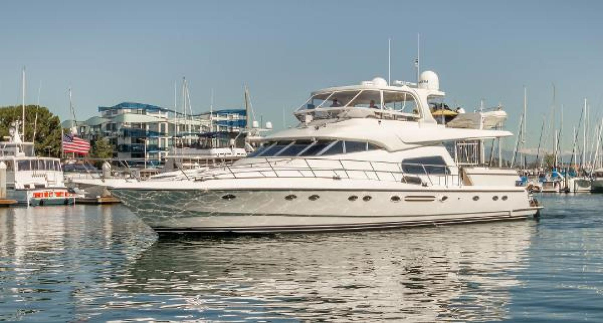 "2005 Johnson 70' Motor Yacht ""Silvers"""