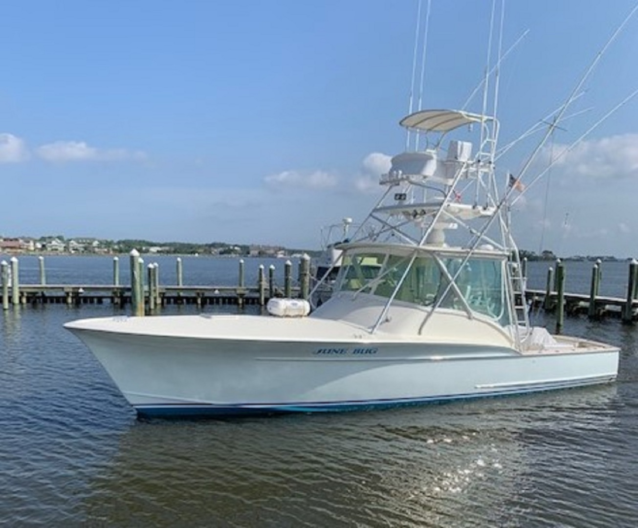 Picture Of: 41' Scarborough Express 1985 Yacht For Sale   1 of 45