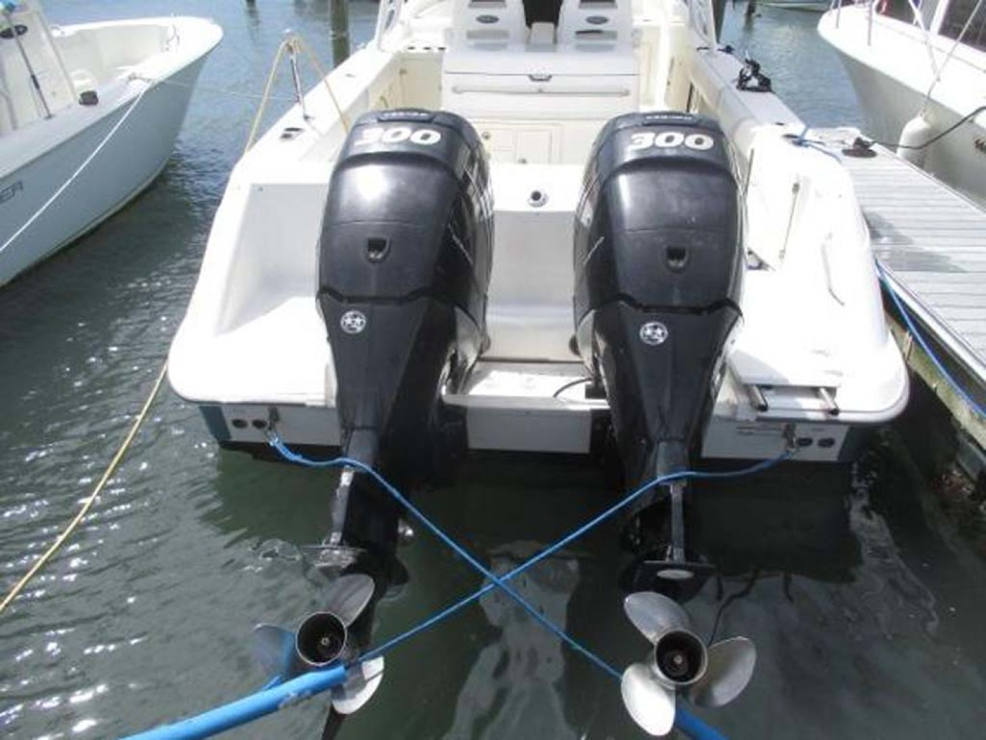 Boston Whaler-320 Outrage 2011 -Cape May-New Jersey-United States-Engines-1237202 | Thumbnail