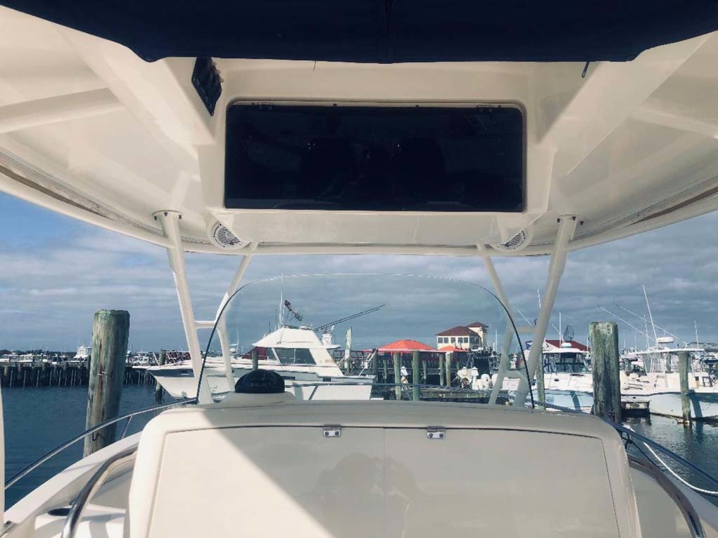 Boston Whaler-320 Outrage 2011 -Cape May-New Jersey-United States-Overhead Compartment-1237221 | Thumbnail