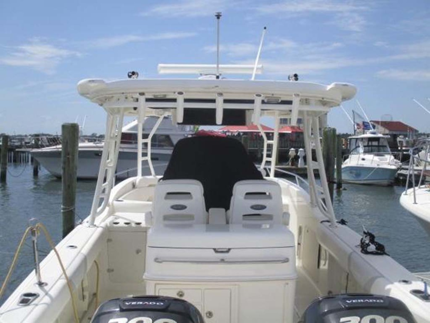 Boston Whaler-320 Outrage 2011 -Cape May-New Jersey-United States-Stern Forward-1237201 | Thumbnail
