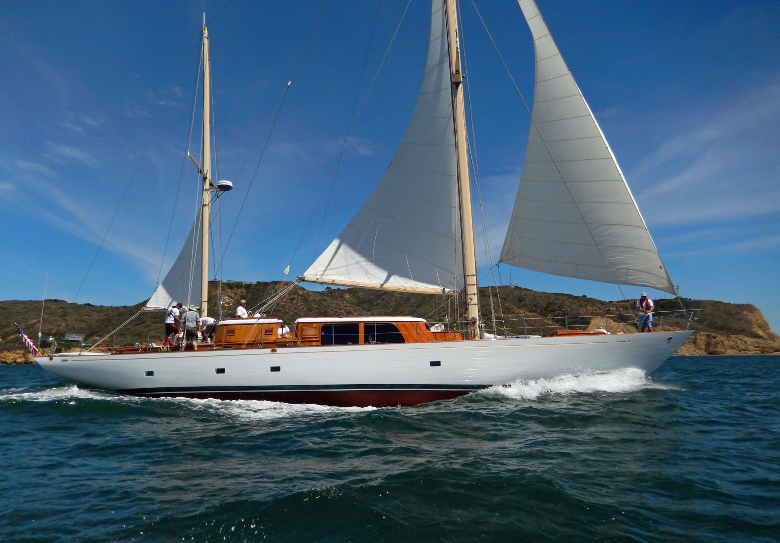 Picture Of: 80' Vic Franck Cruising Sailboat 1961 Yacht For Sale | 1 of 53