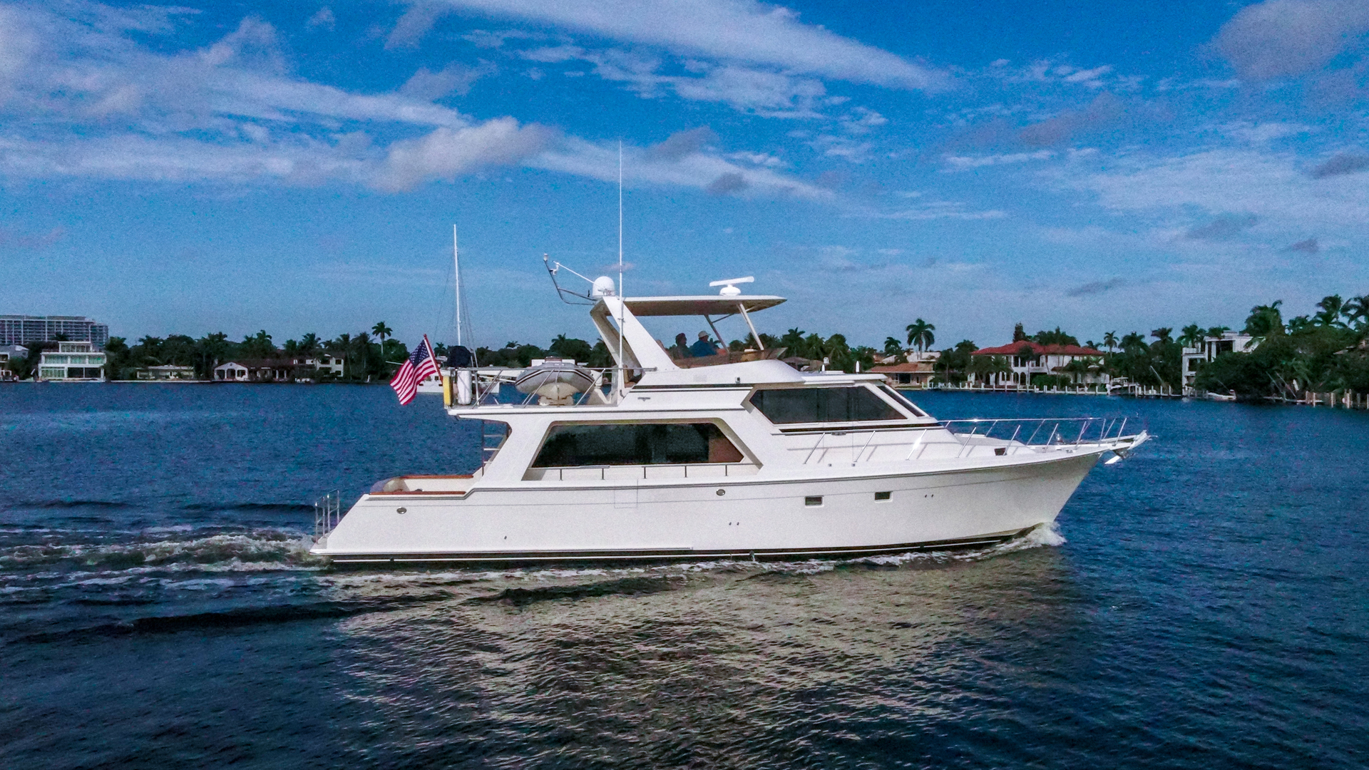 Picture Of: 54' Offshore Yachts Pilothouse 2005 Yacht For Sale   2 of 22