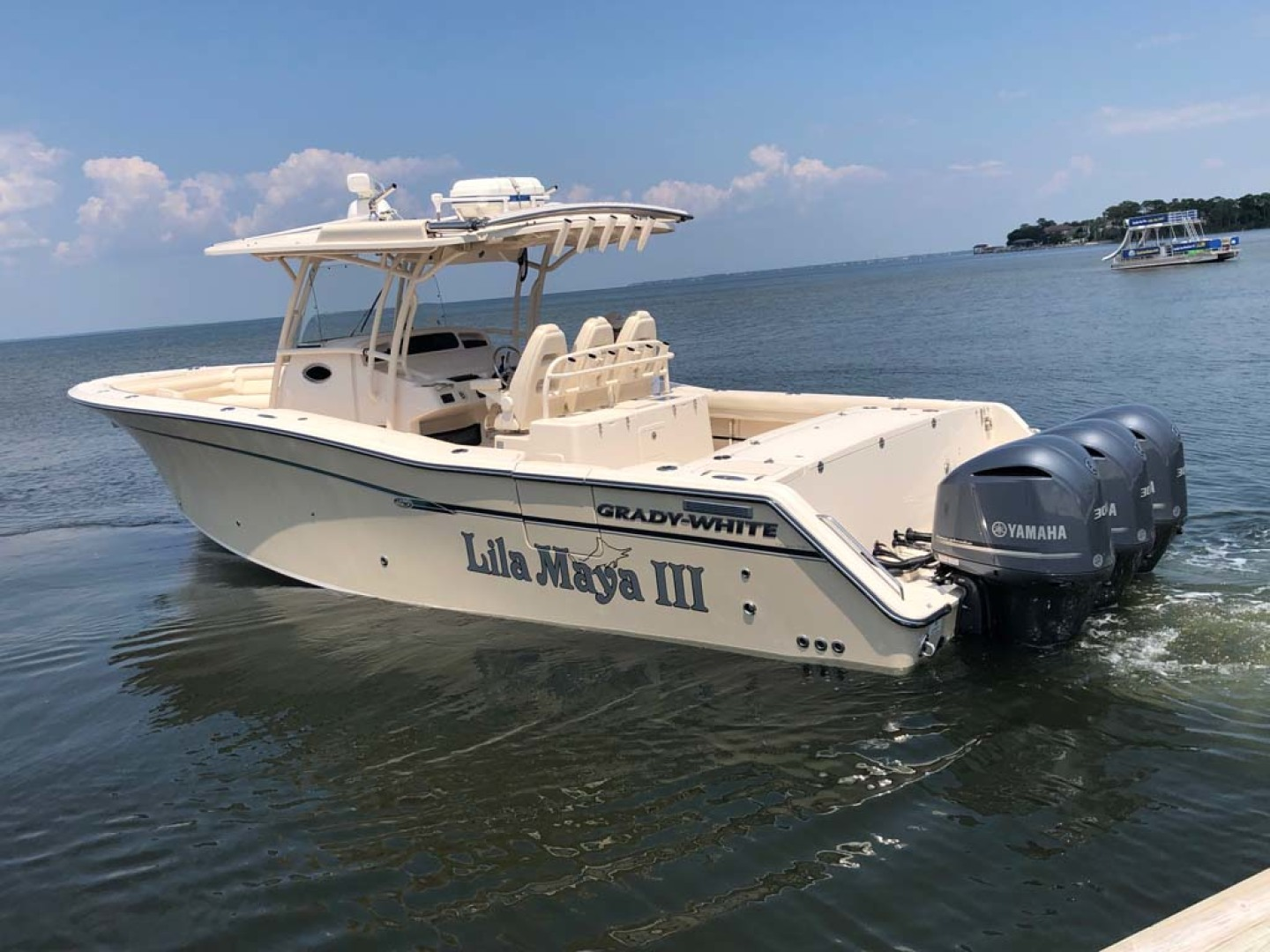 Grady-White-336 Canyon 2017-Lila Maya III Destin-Florida-United States-Port Stern View-1238849 | Thumbnail