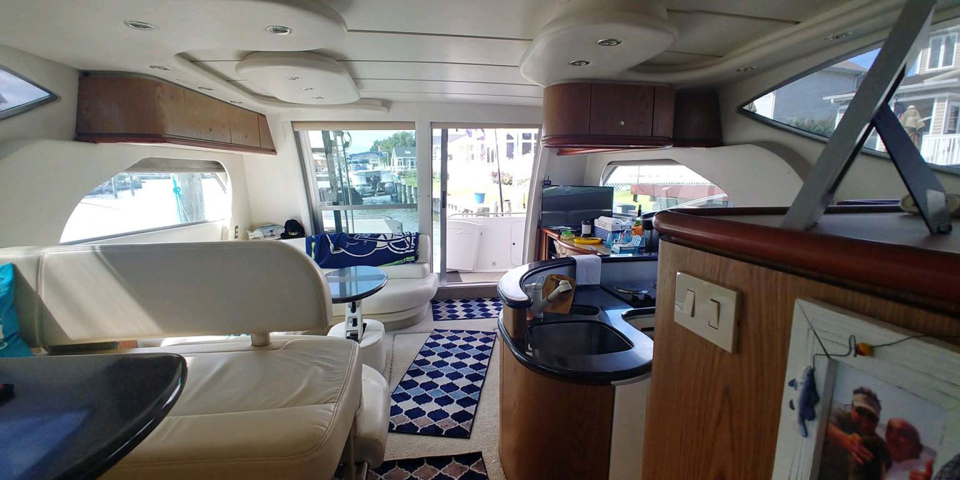 Maxum-46 SCB 2001-Soul Mate Ocean City-Maryland-United States-Salon Looking AFt-1238910 | Thumbnail