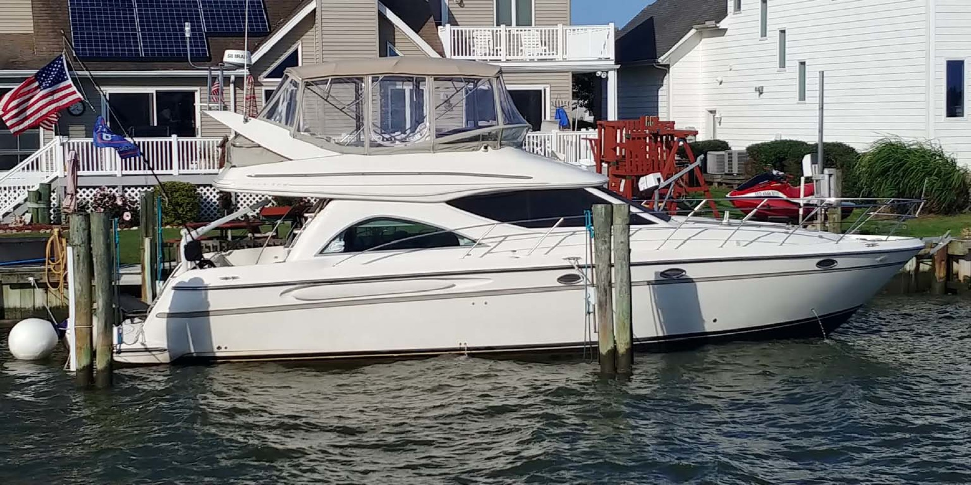 Maxum-46 SCB 2001-Soul Mate Ocean City-Maryland-United States-Starboard Profile-1238905 | Thumbnail