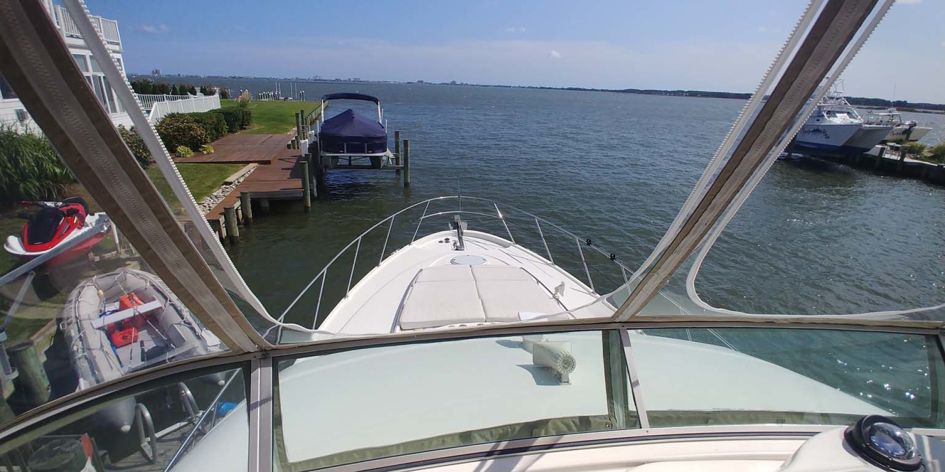 Maxum-46 SCB 2001-Soul Mate Ocean City-Maryland-United States-Flybridge View-1238916 | Thumbnail
