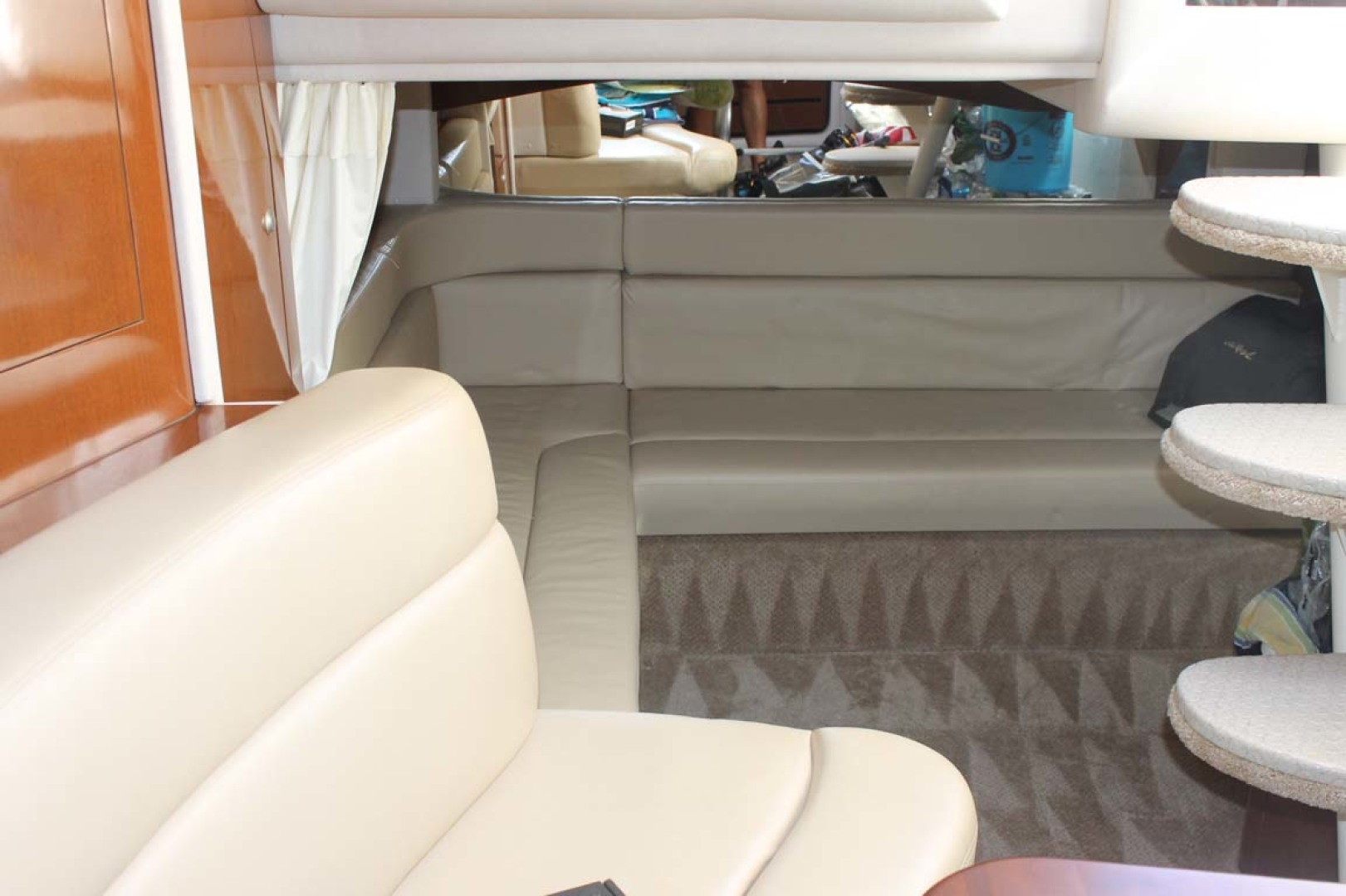 Sea Ray-340 Sundancer 2008-Miss Leah Somers Point-New Jersey-United States-Salon Seating-1242066 | Thumbnail