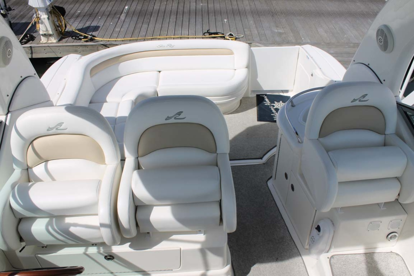 Sea Ray-340 Sundancer 2008-Miss Leah Somers Point-New Jersey-United States-Helm Seats-1242075 | Thumbnail
