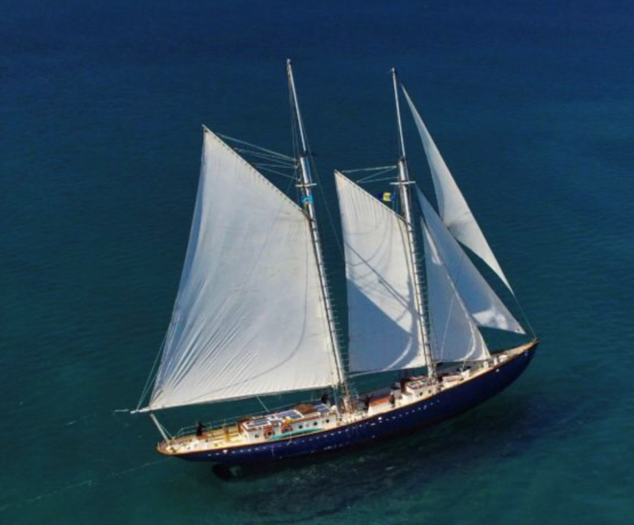 100' Custom Grand Banks Schooner