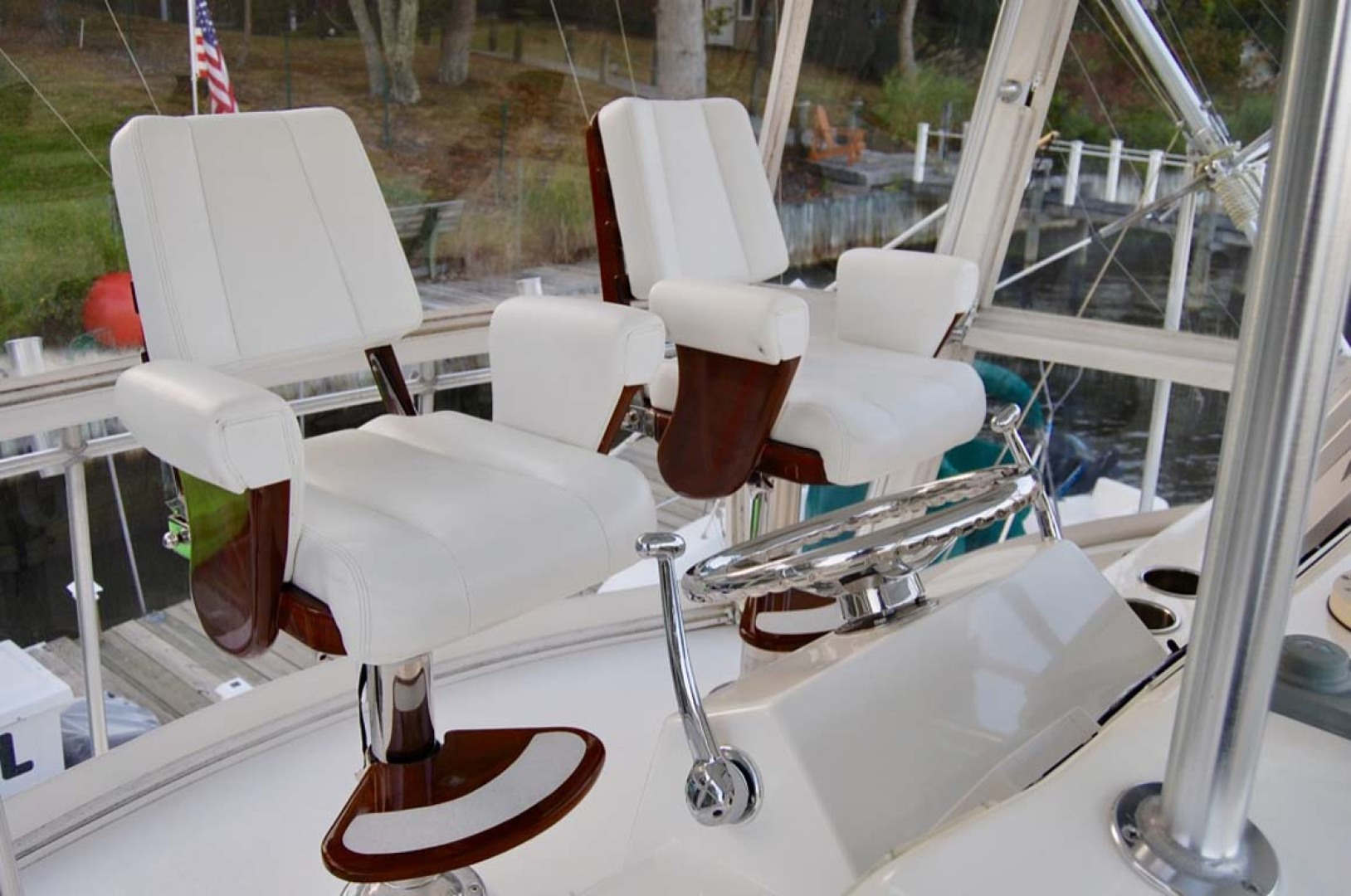 Egg Harbor-42 Sport Yacht 2002-Sir Reel Moriches-New York-United States-Helm Chairs-1242337 | Thumbnail