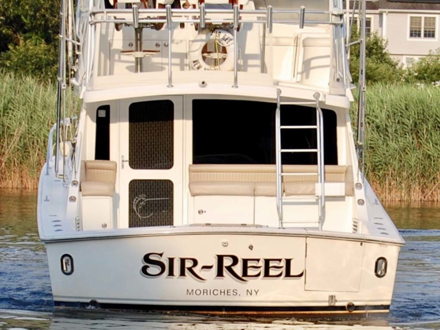 Egg Harbor-42 Sport Yacht 2002-Sir Reel Moriches-New York-United States-Stern-1242331 | Thumbnail