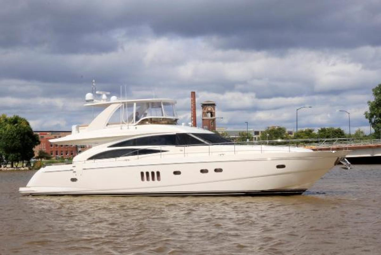 Picture Of: 68' Princess 67 Flybridge 2006 Yacht For Sale | 2 of 103