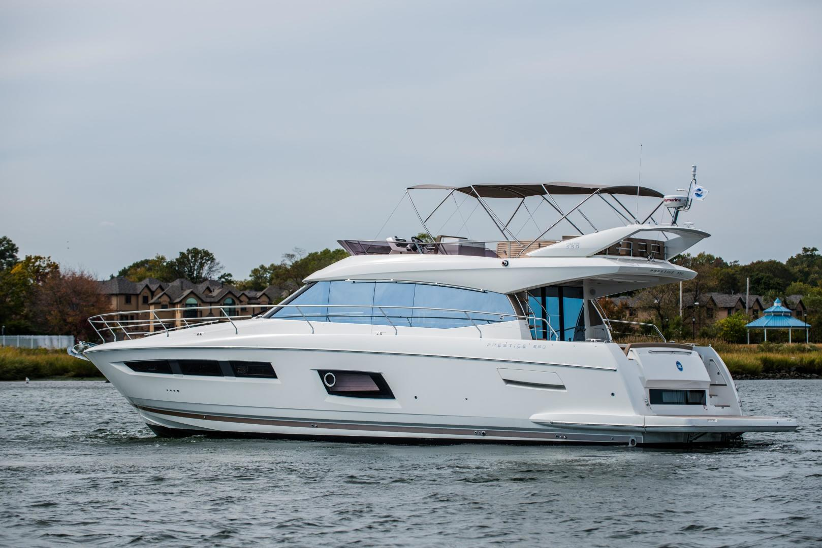 Picture Of: 58' Prestige 550 Flybridge 2014 Yacht For Sale | 1 of 52