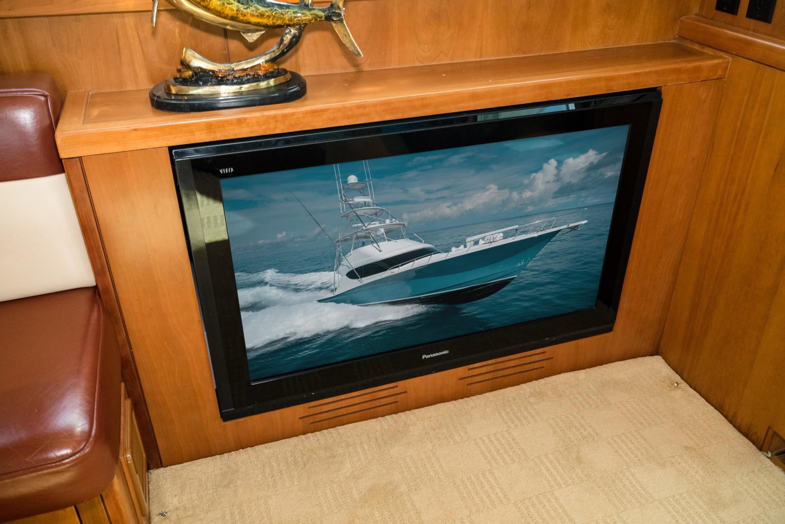 Hatteras-60 GT 2008-Ty Me Up Stuart-Florida-United States-Cockpit TV-1255233 | Thumbnail