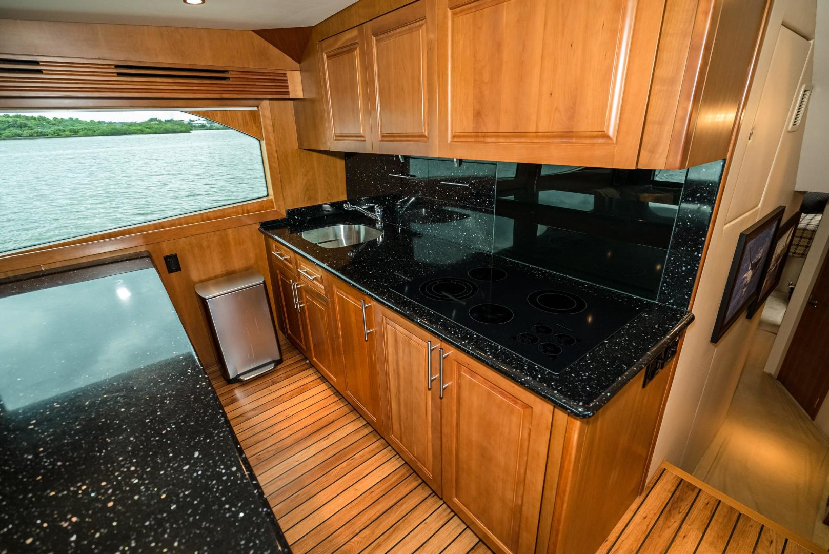 Hatteras-60 GT 2008-Ty Me Up Stuart-Florida-United States-Galley-1255236 | Thumbnail