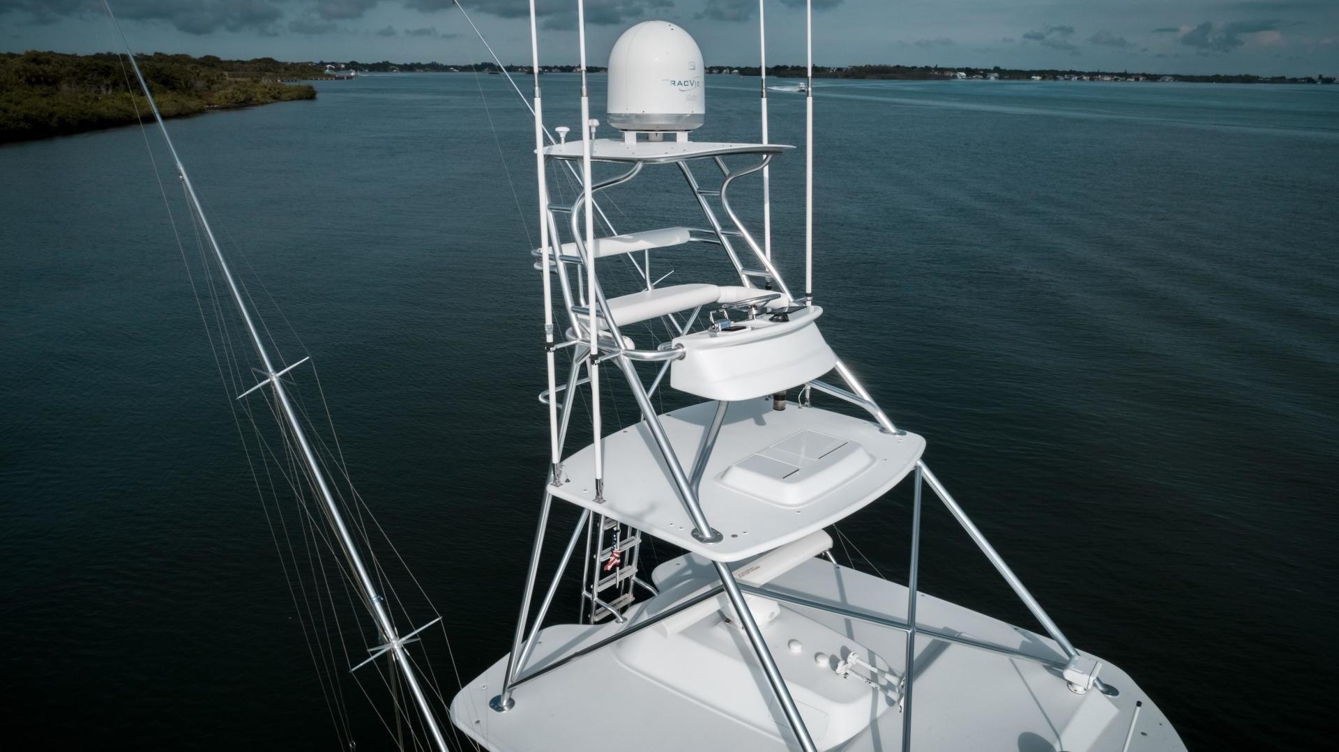 Hatteras-60 GT 2008-Ty Me Up Stuart-Florida-United States-Tower 2-1255278 | Thumbnail