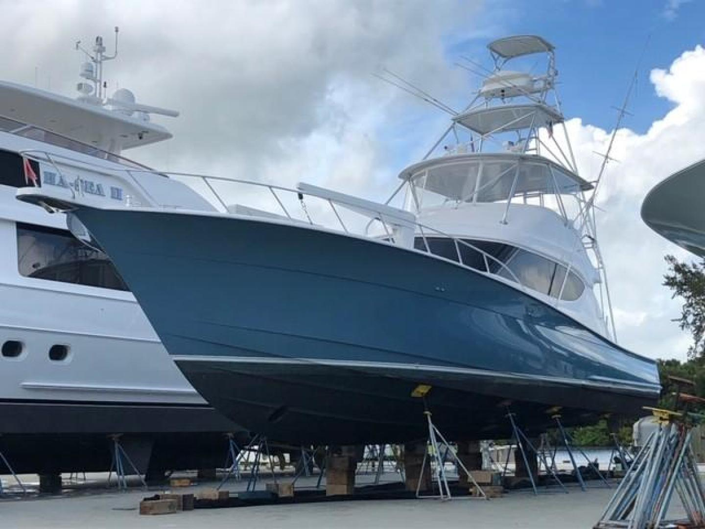 Hatteras-60 GT 2008-Ty Me Up Stuart-Florida-United States-Hauled Out-1255307 | Thumbnail
