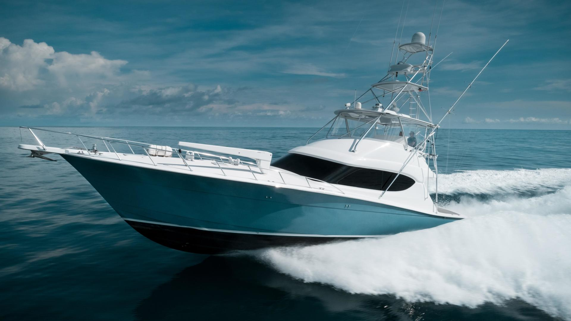Picture Of: 59' Hatteras 60 GT 2008 Yacht For Sale | 2 of 107