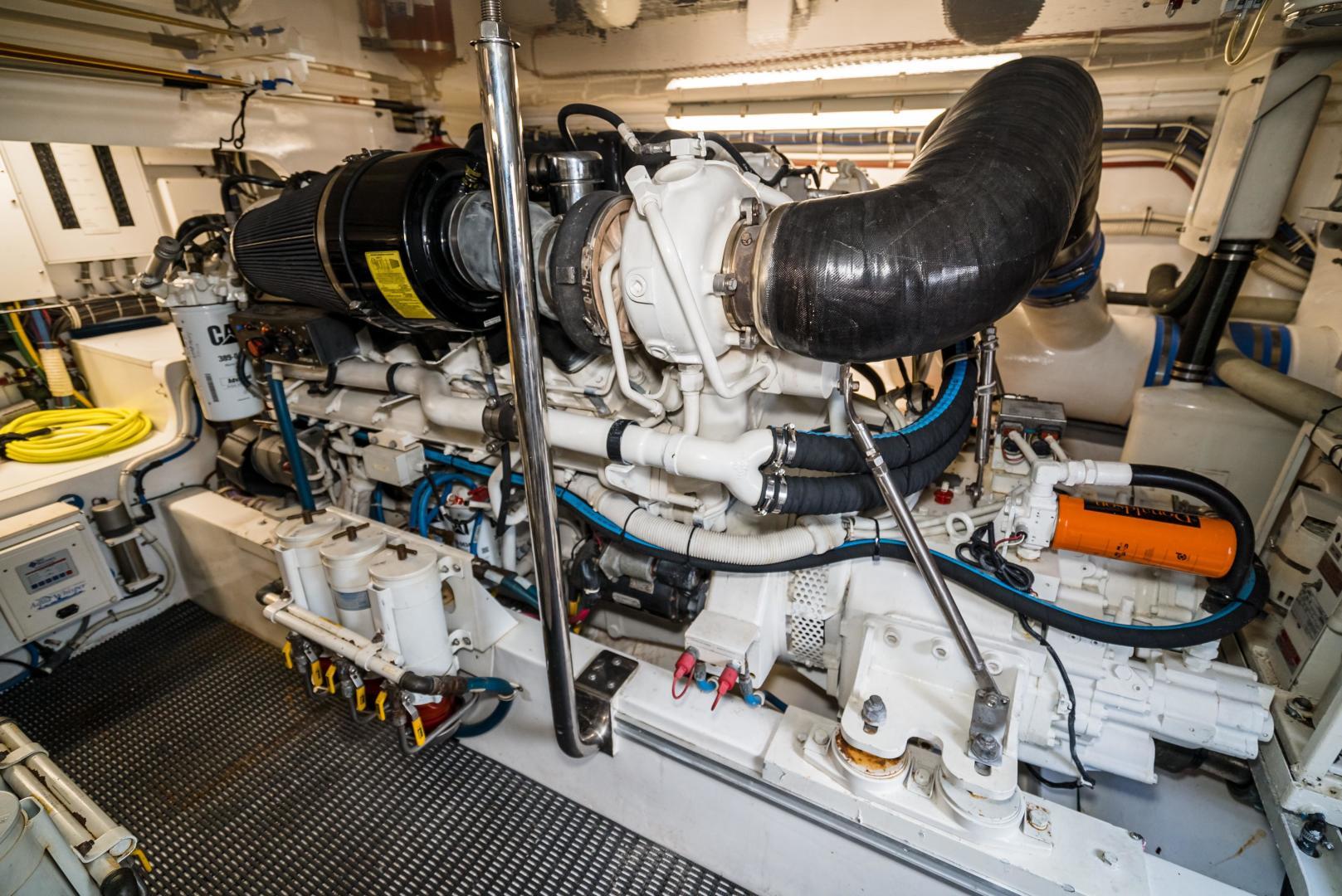 Hatteras-60 GT 2008-Ty Me Up Stuart-Florida-United States-Engine Room 8-1255297 | Thumbnail