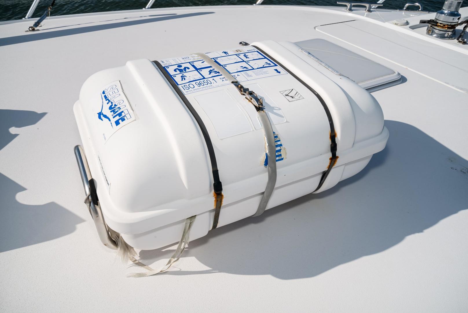 Hatteras-60 GT 2008-Ty Me Up Stuart-Florida-United States-Life Raft-1255284 | Thumbnail