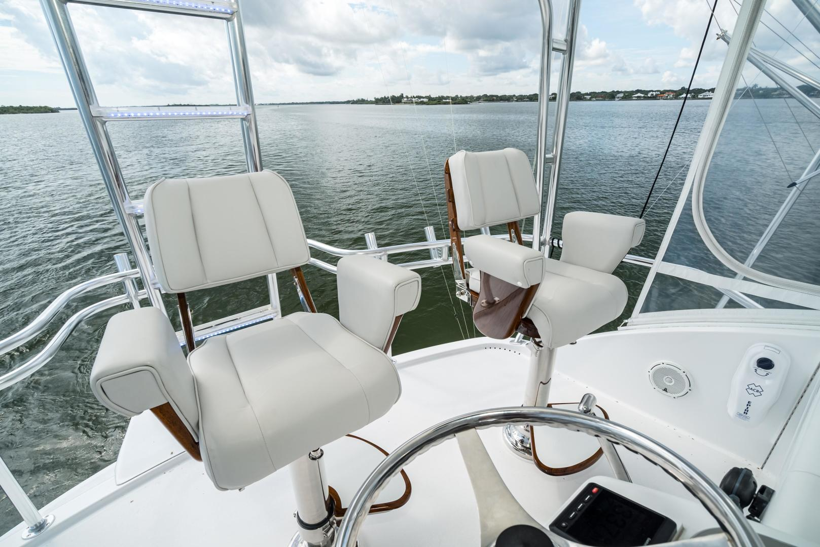 Hatteras-60 GT 2008-Ty Me Up Stuart-Florida-United States-Release Chairs 1-1255261 | Thumbnail