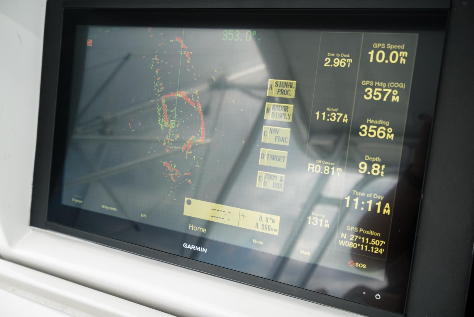 Hatteras-60 GT 2008-Ty Me Up Stuart-Florida-United States-Furuno Radar-1255266 | Thumbnail