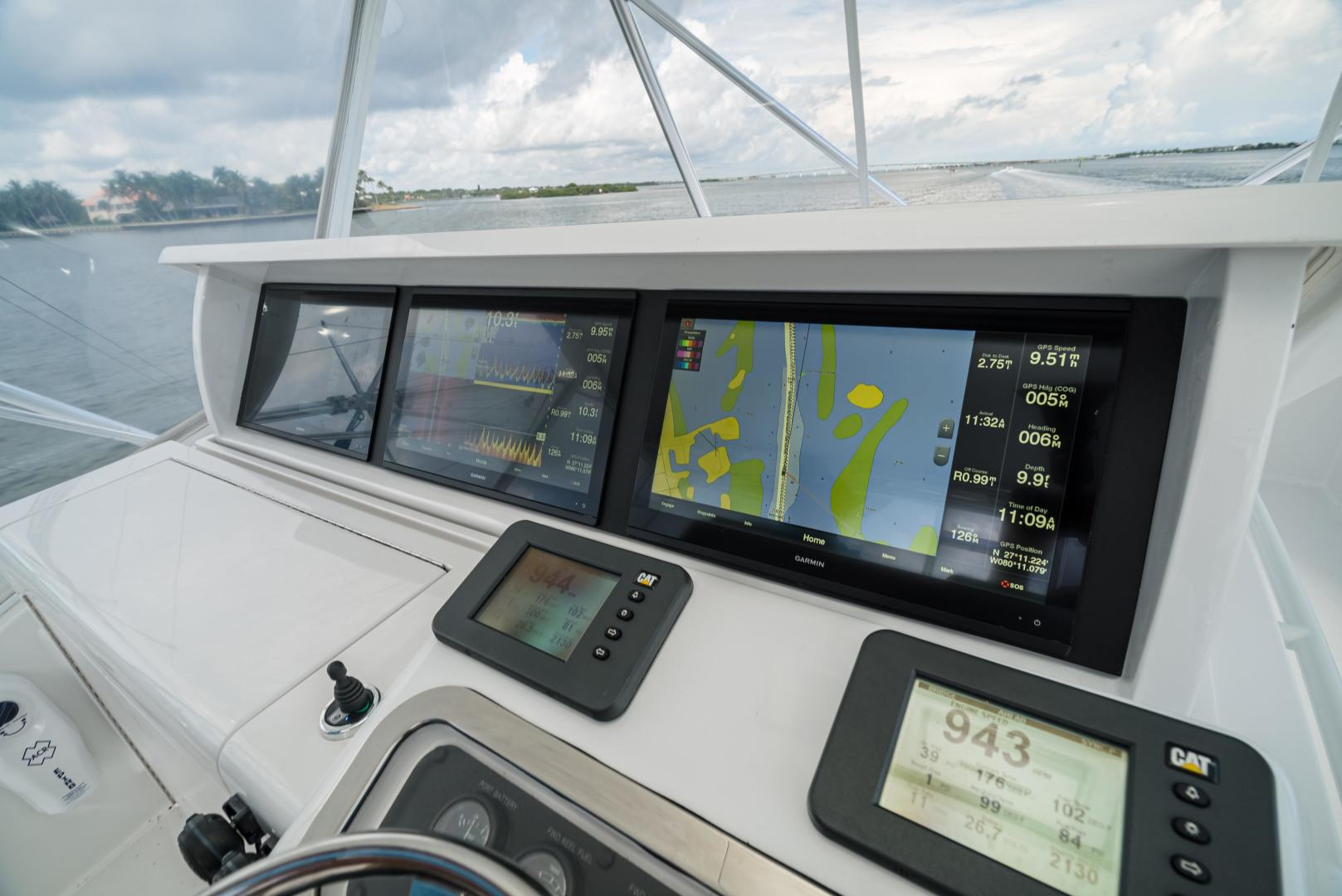 Hatteras-60 GT 2008-Ty Me Up Stuart-Florida-United States-Updated 22 Garmin Screens-1255265 | Thumbnail
