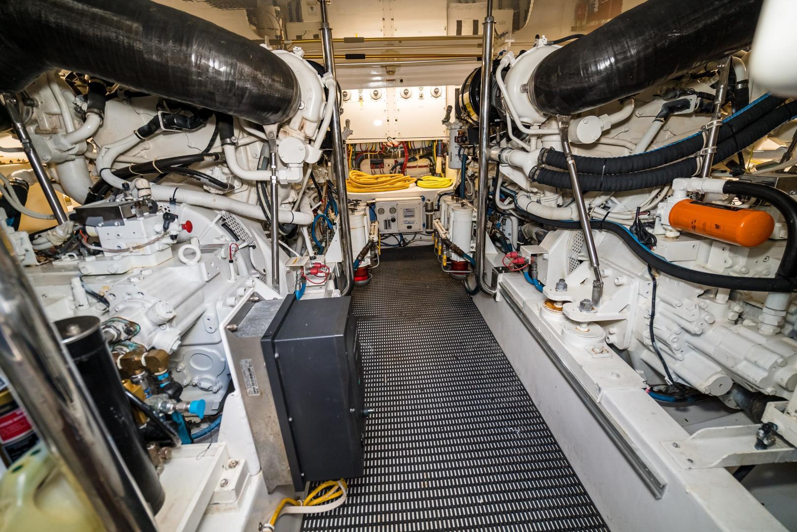 Hatteras-60 GT 2008-Ty Me Up Stuart-Florida-United States-Engine Room 16-1255305 | Thumbnail
