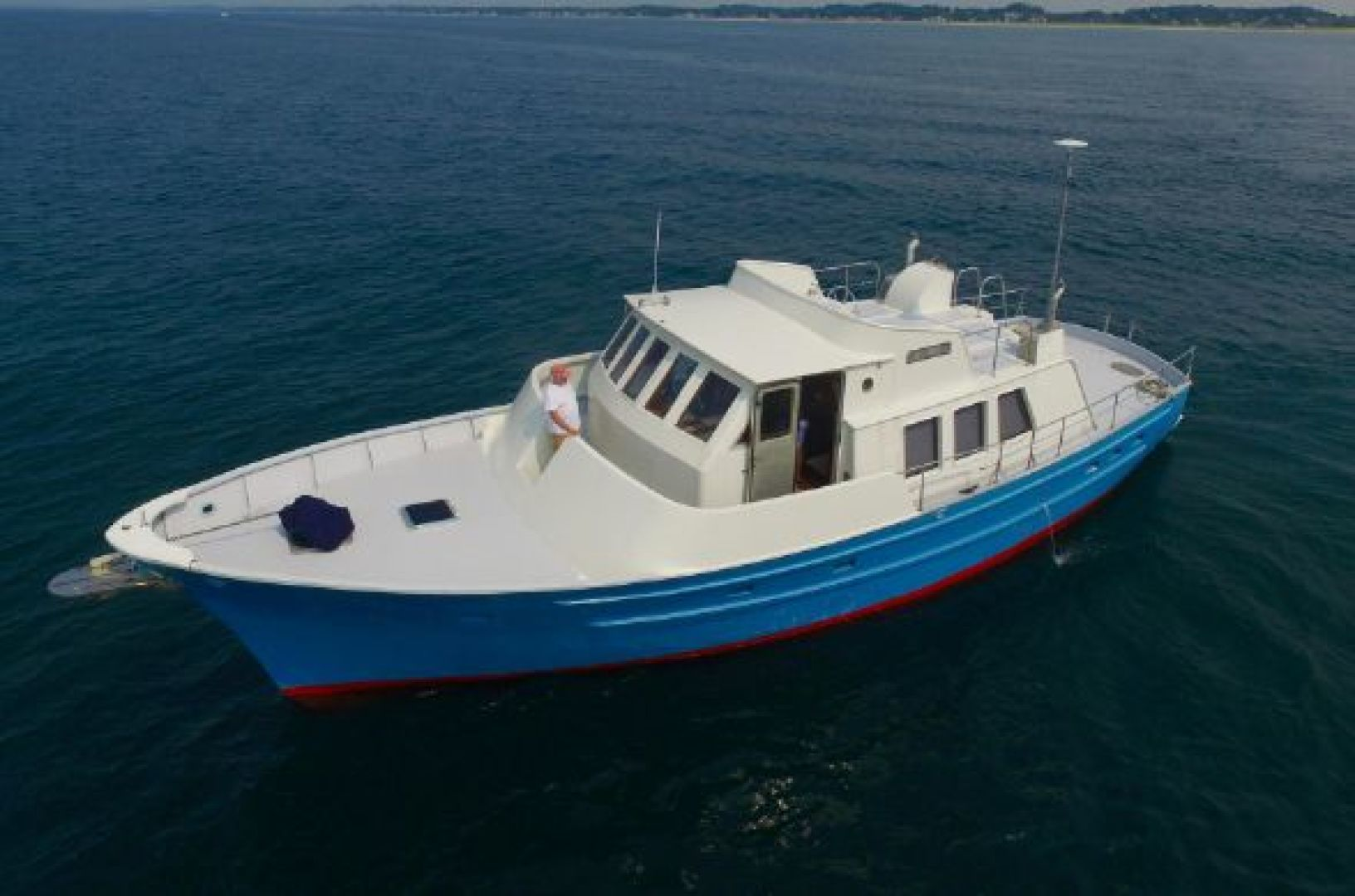 Picture Of: 53' Seaton Pilot House Trawler 2013 Yacht For Sale   1 of 42