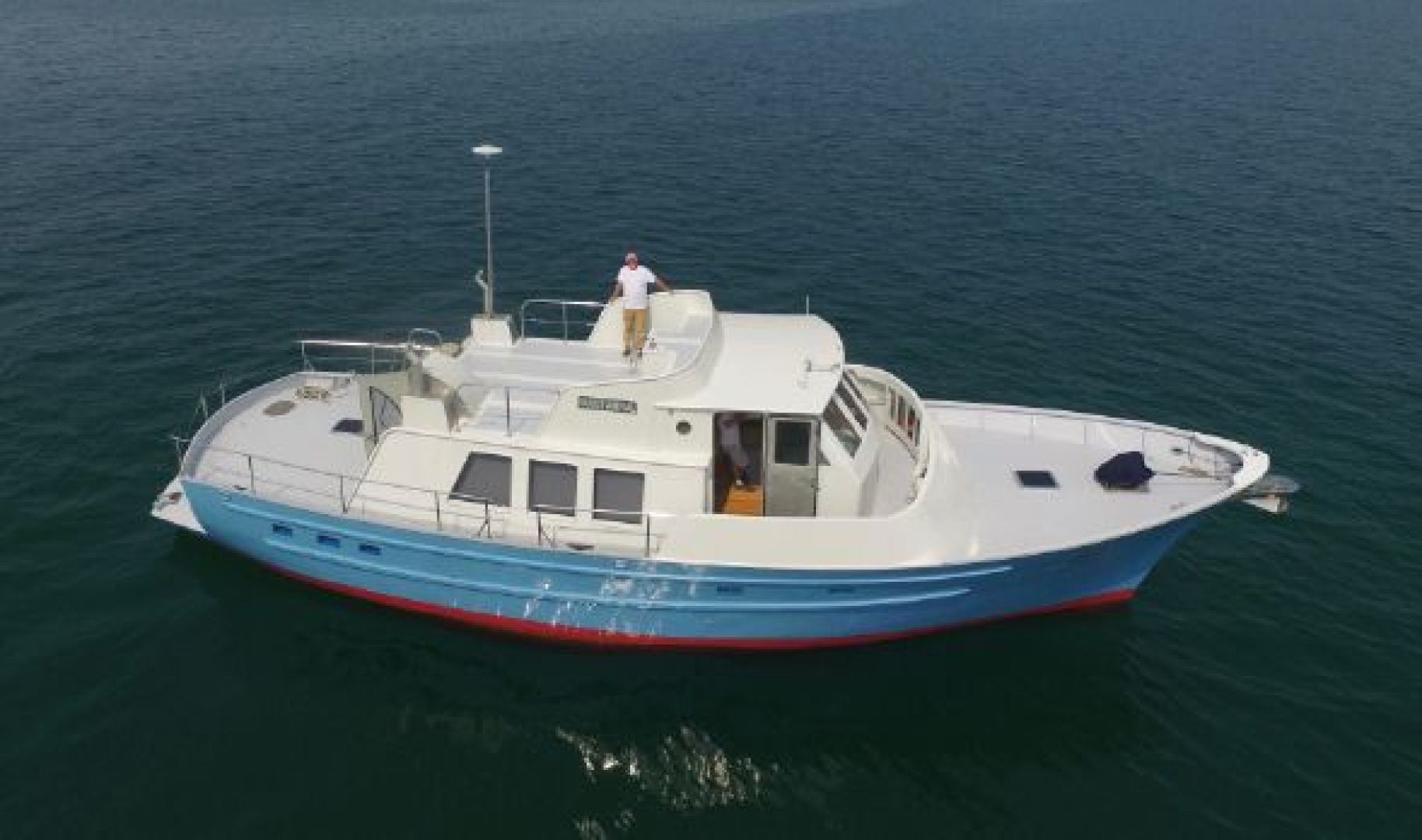 Picture Of: 53' Seaton Pilot House Trawler 2013 Yacht For Sale   2 of 42
