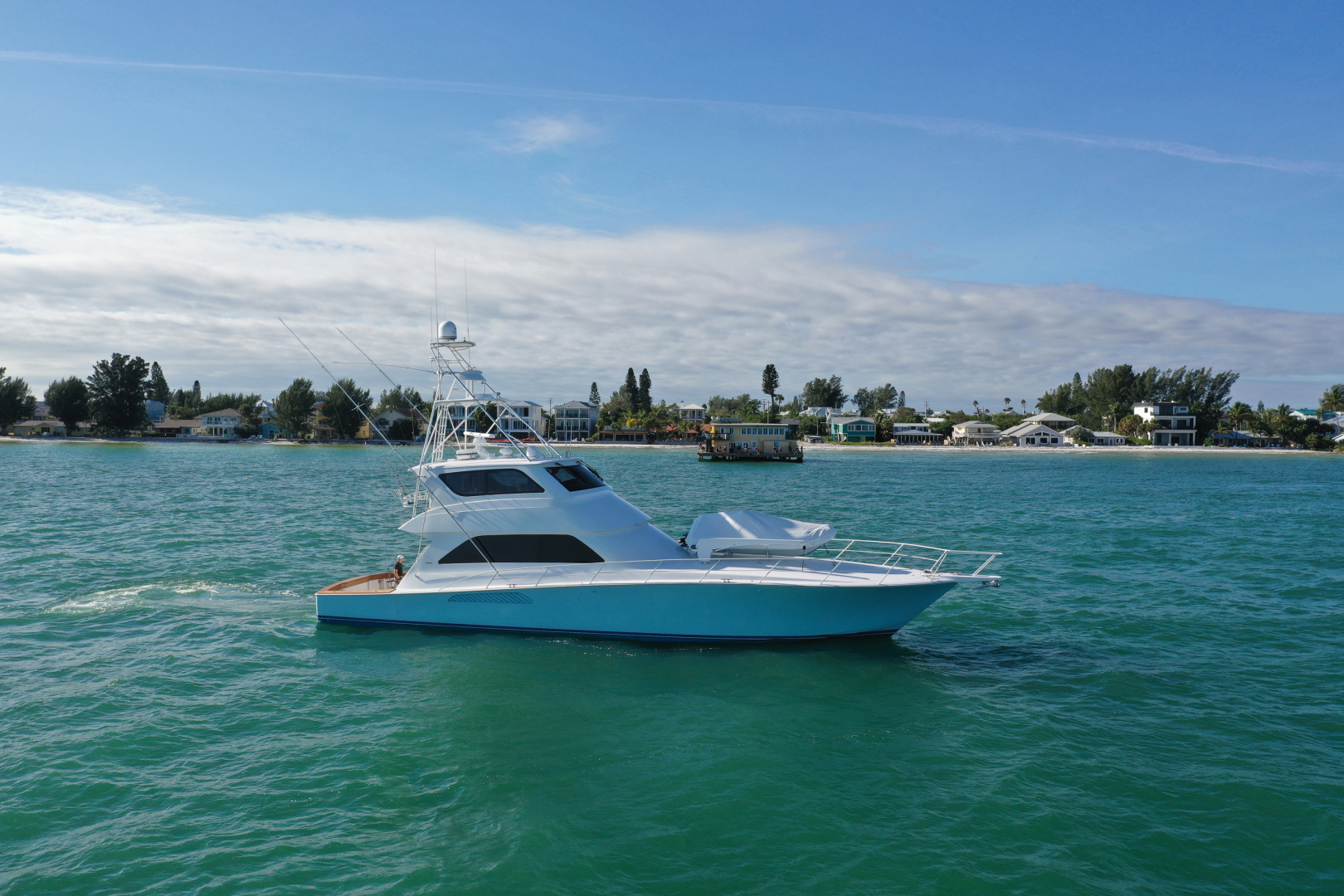 Picture Of: 74' Viking 74 Enclosed Bridge 2005 Yacht For Sale | 2 of 70