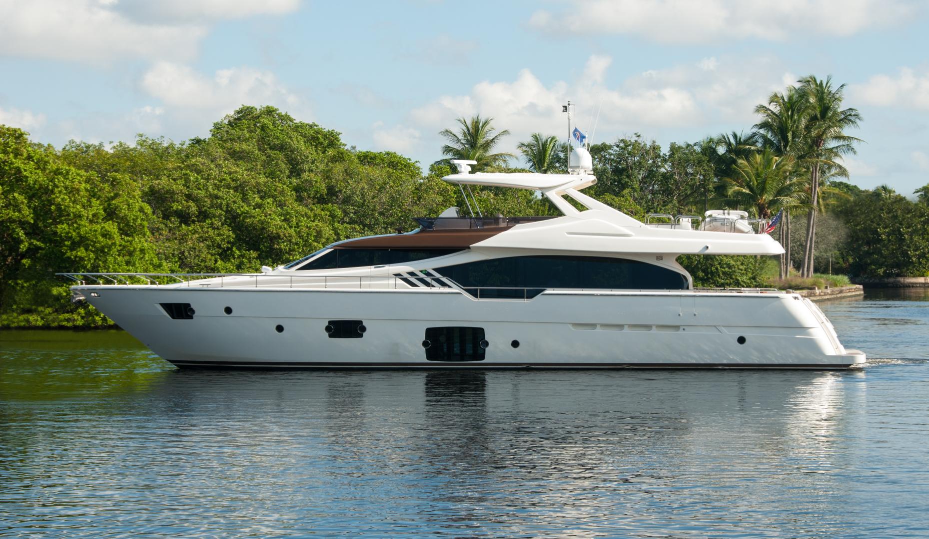 Ferretti Yachts 87' 870 MY 2014  Current Asset