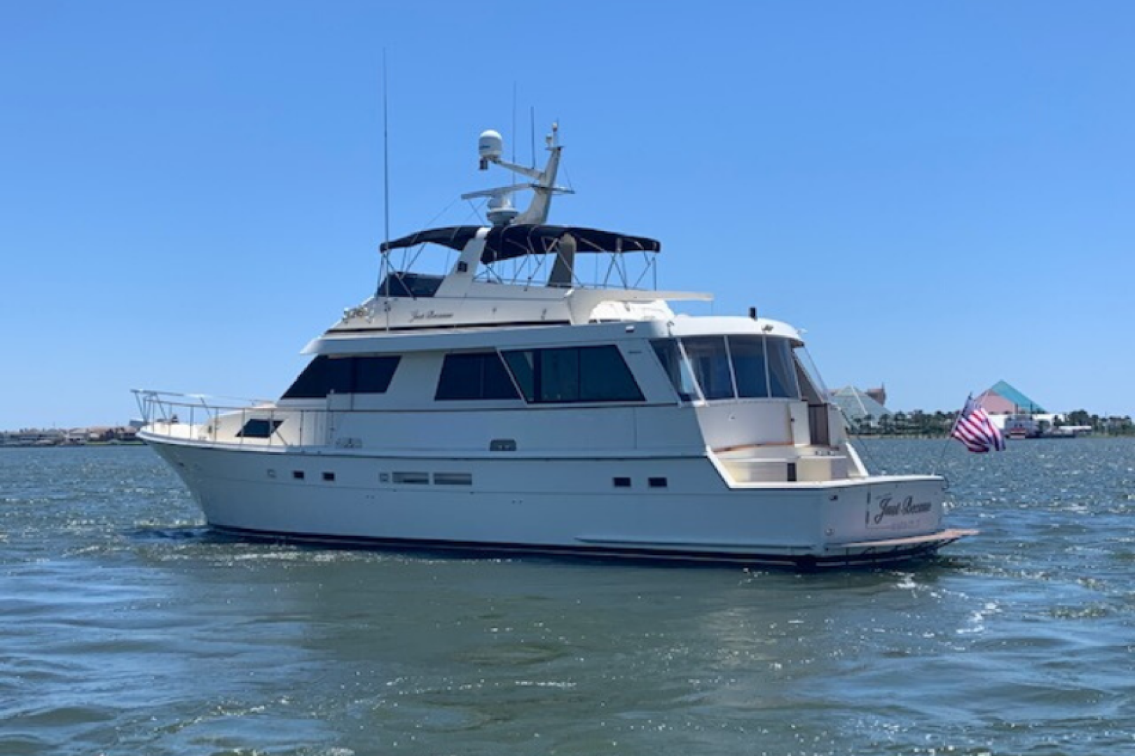 Picture Of: 67' Hatteras 67 Cockpit Motor Yacht 1989 Yacht For Sale | 1 of 24