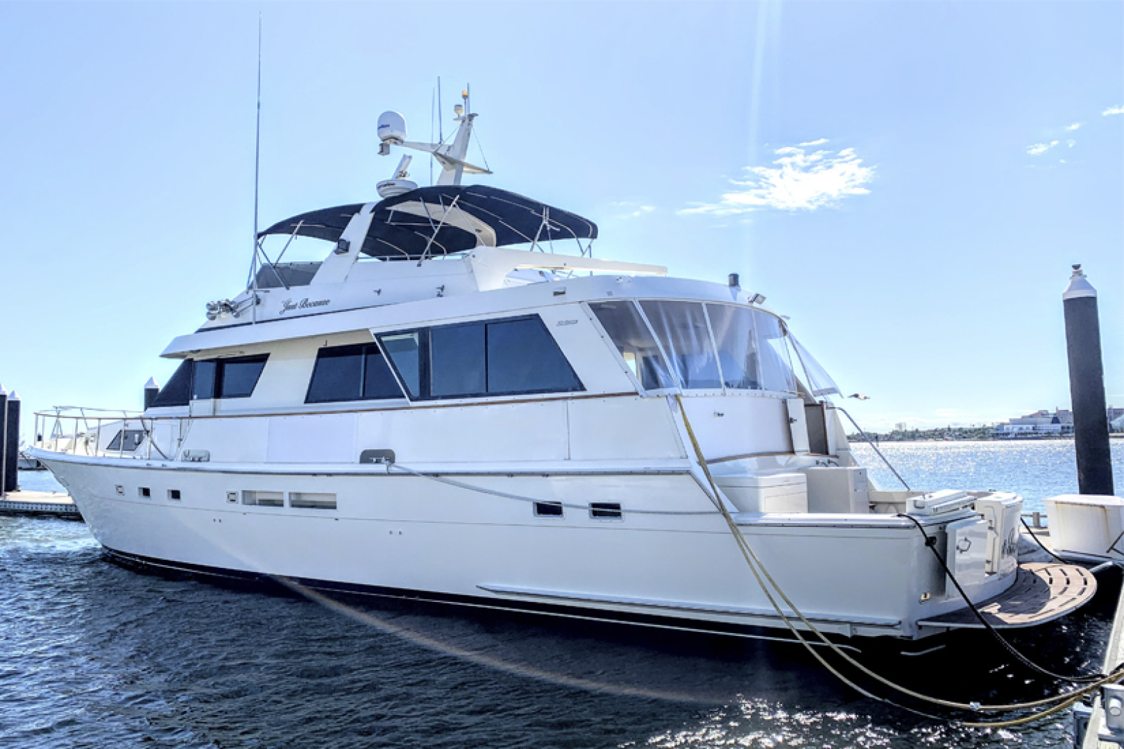 Picture Of: 67' Hatteras 67 Cockpit Motor Yacht 1989 Yacht For Sale | 2 of 24