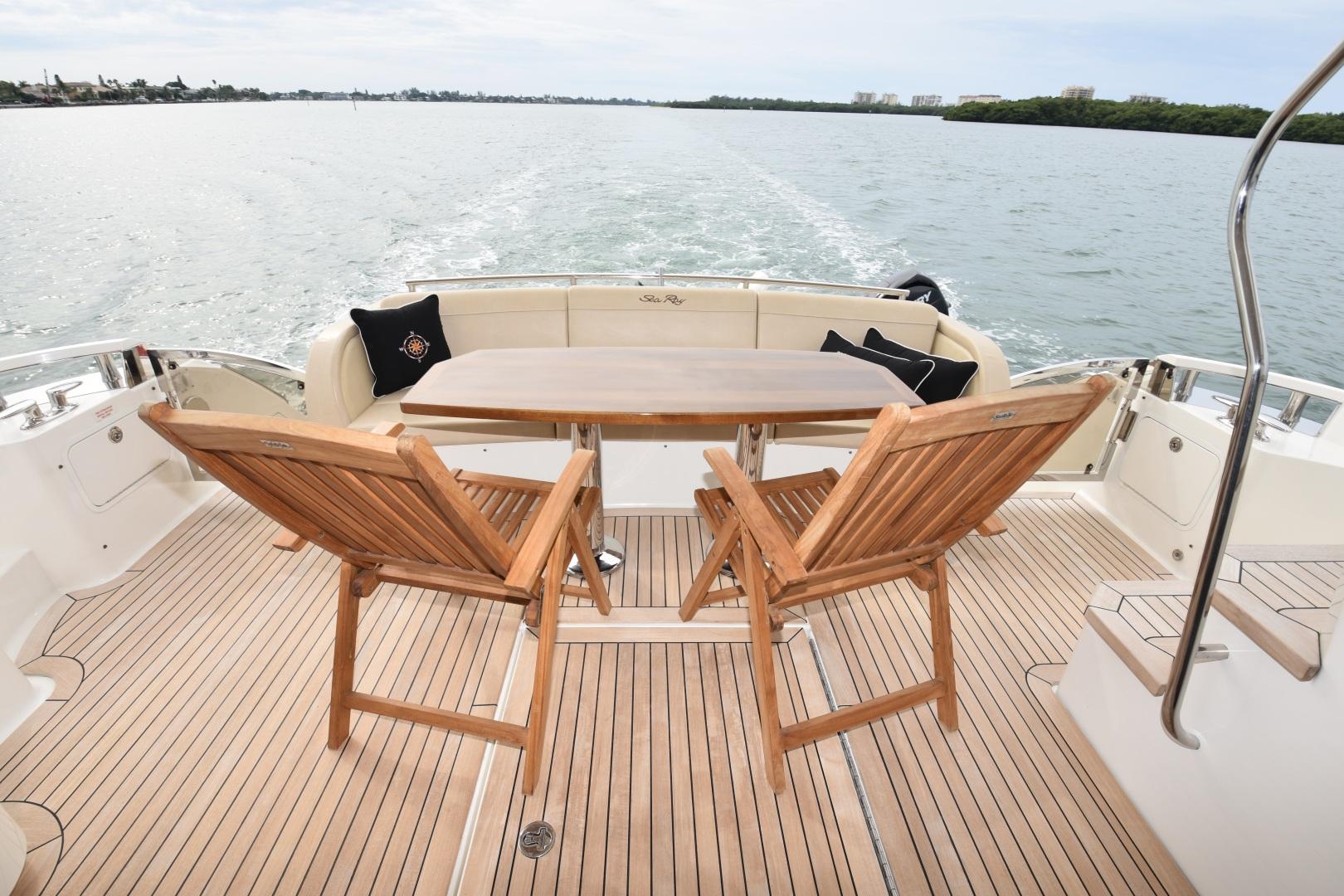 Sea Ray-L650 2016-3x's the Charm Longboat Key-Florida-United States-2016 Sea Ray L650  3x's the Charm  Aft Cockpit-1251836 | Thumbnail
