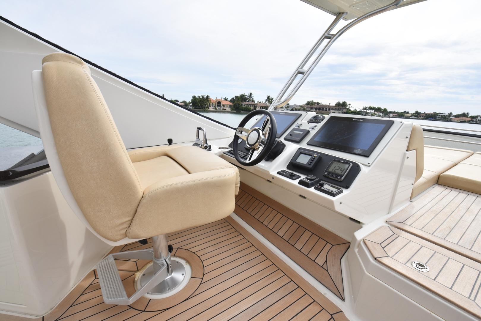Sea Ray-L650 2016-3x's the Charm Longboat Key-Florida-United States-2016 Sea Ray L650  3x's the Charm  Flybridge Helm-1251854 | Thumbnail