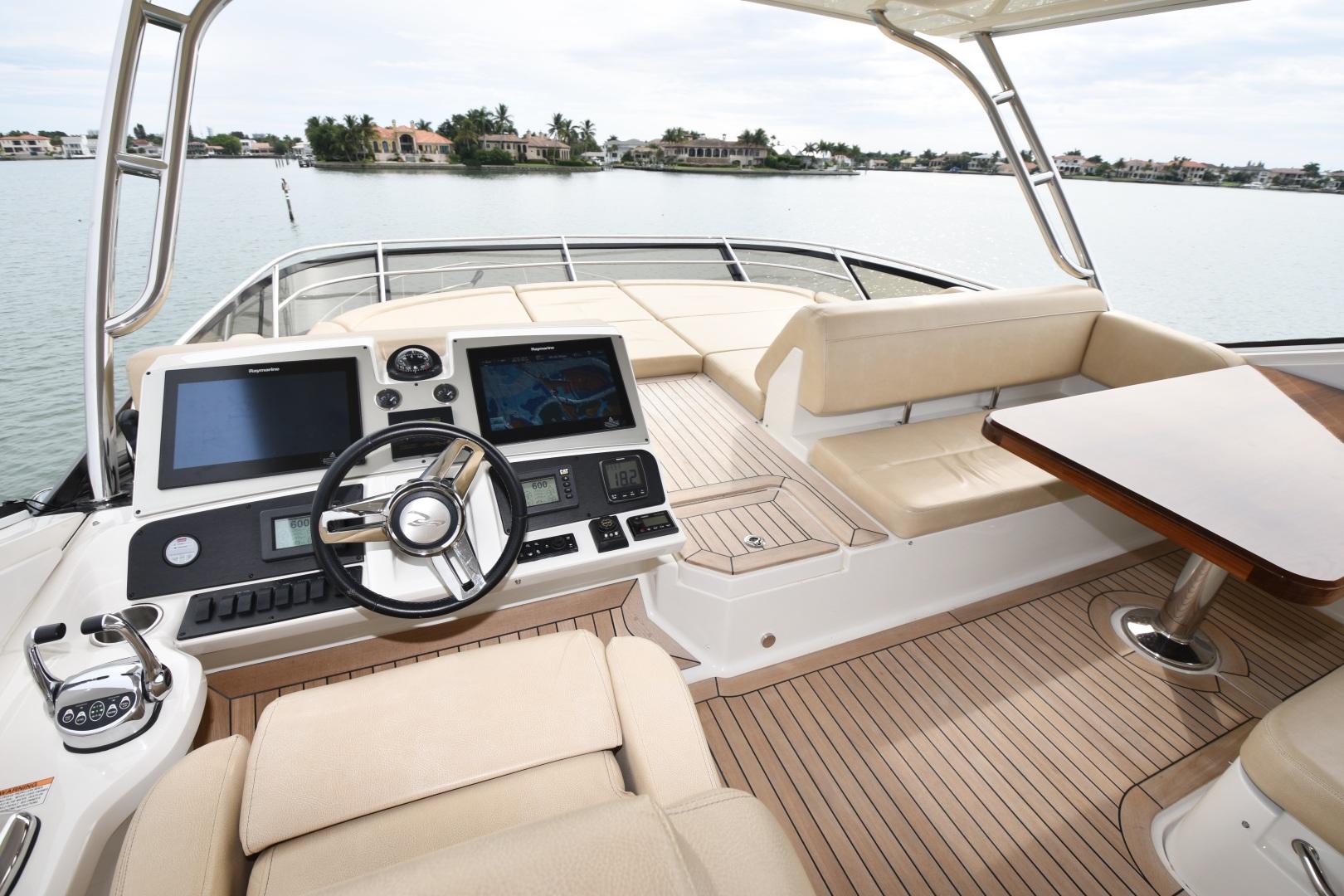 Sea Ray-L650 2016-3x's the Charm Longboat Key-Florida-United States-2016 Sea Ray L650  3x's the Charm  Flybridge Helm-1251850 | Thumbnail
