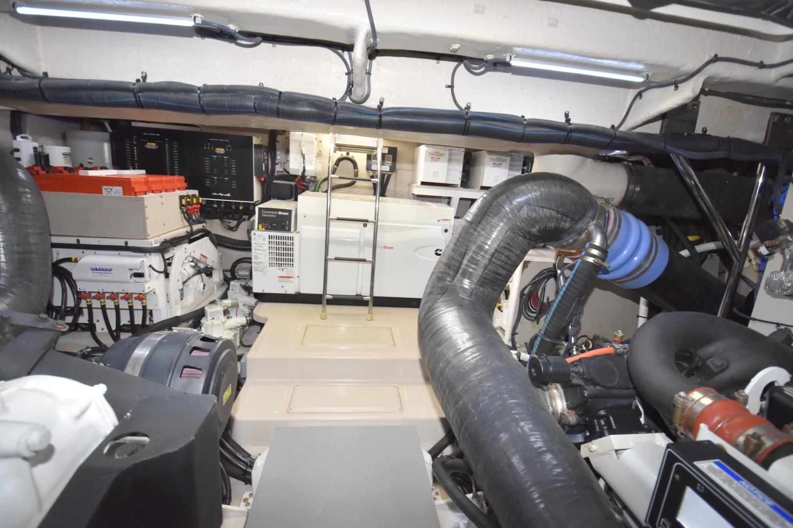 Sea Ray-L650 2016-3x's the Charm Longboat Key-Florida-United States-2016 Sea Ray L650  3x's the Charm  Engine Room-1251868 | Thumbnail