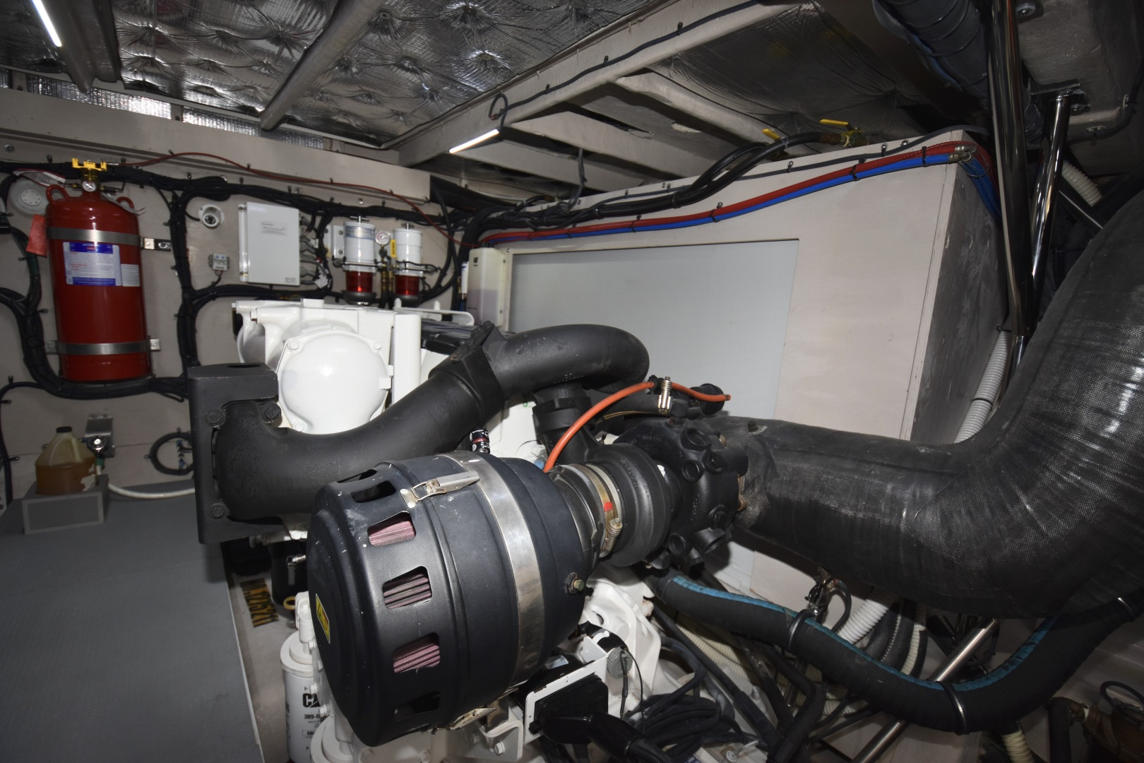 Sea Ray-L650 2016-3x's the Charm Longboat Key-Florida-United States-2016 Sea Ray L650  3x's the Charm  Engine Room-1251873 | Thumbnail