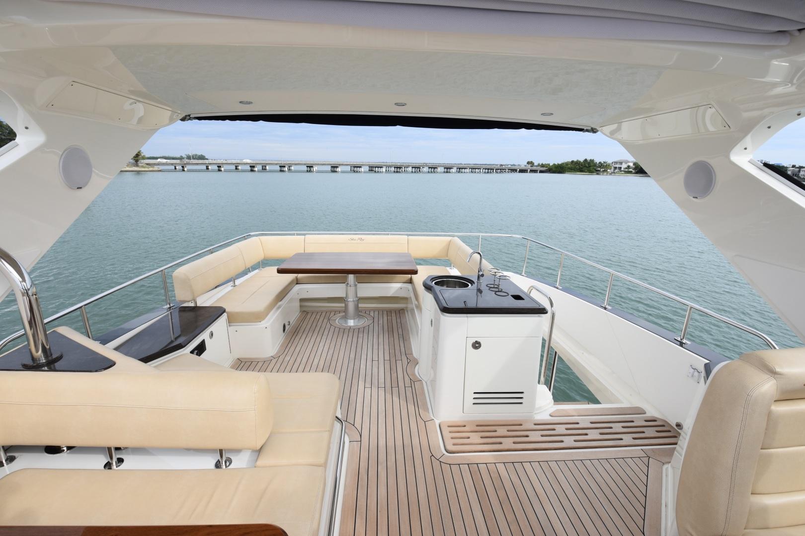 Sea Ray-L650 2016-3x's the Charm Longboat Key-Florida-United States-2016 Sea Ray L650  3x's the Charm  Flybridge-1251857 | Thumbnail
