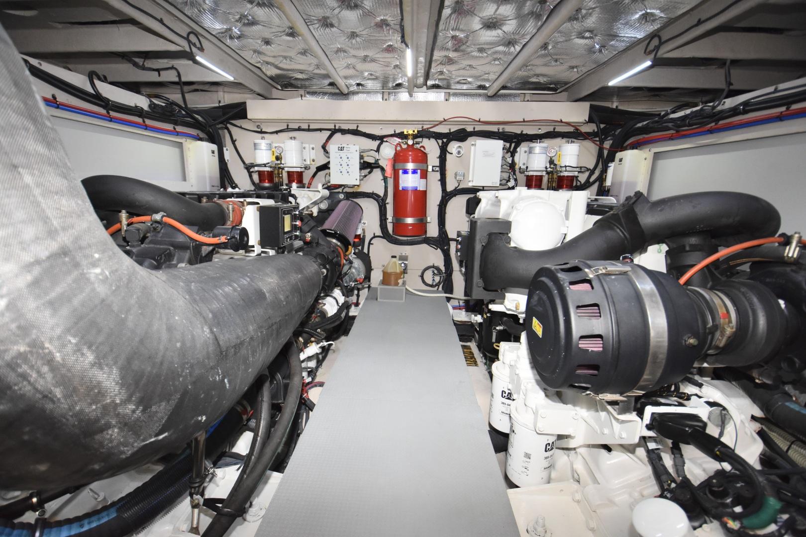 Sea Ray-L650 2016-3x's the Charm Longboat Key-Florida-United States-2016 Sea Ray L650  3x's the Charm  Engine Room-1251874 | Thumbnail