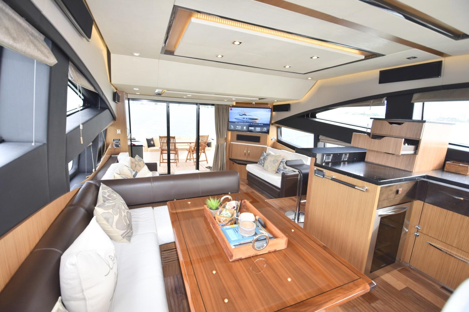 Sea Ray-L650 2016-3x's the Charm Longboat Key-Florida-United States-2016 Sea Ray L650  3x's the Charm  Dinette / Galley / Salon-1251787 | Thumbnail