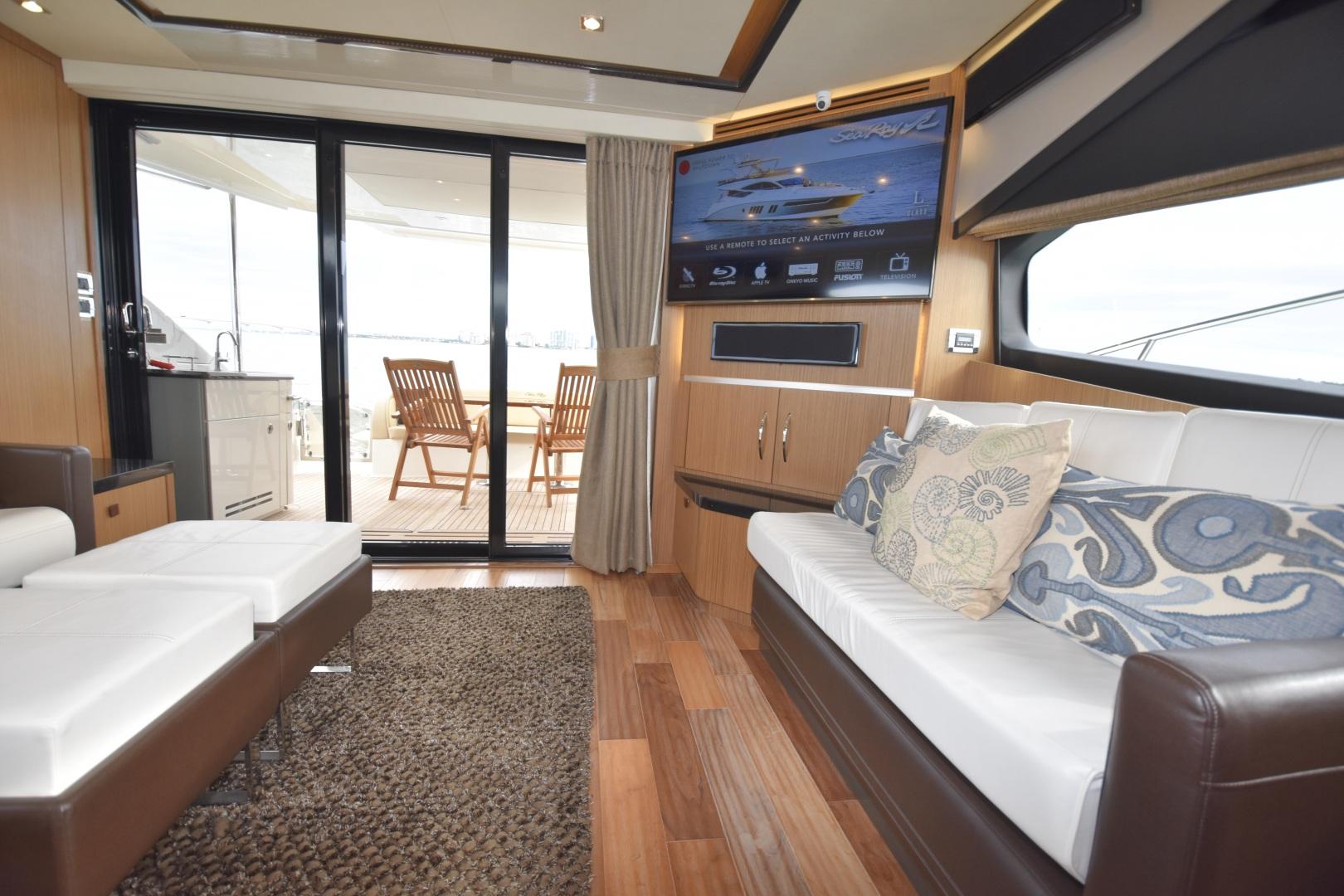 Sea Ray-L650 2016-3x's the Charm Longboat Key-Florida-United States-2016 Sea Ray L650  3x's the Charm  Salon-1251800 | Thumbnail