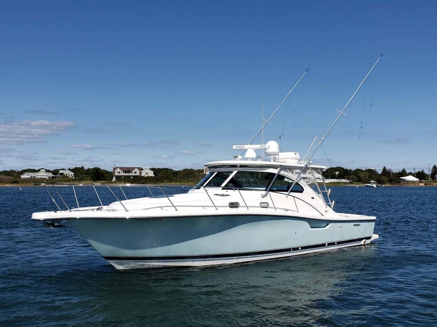 Pursuit-3800 Express 2004-CAN MAN Montauk-New York-United States-Port Bow-1250983 | Thumbnail