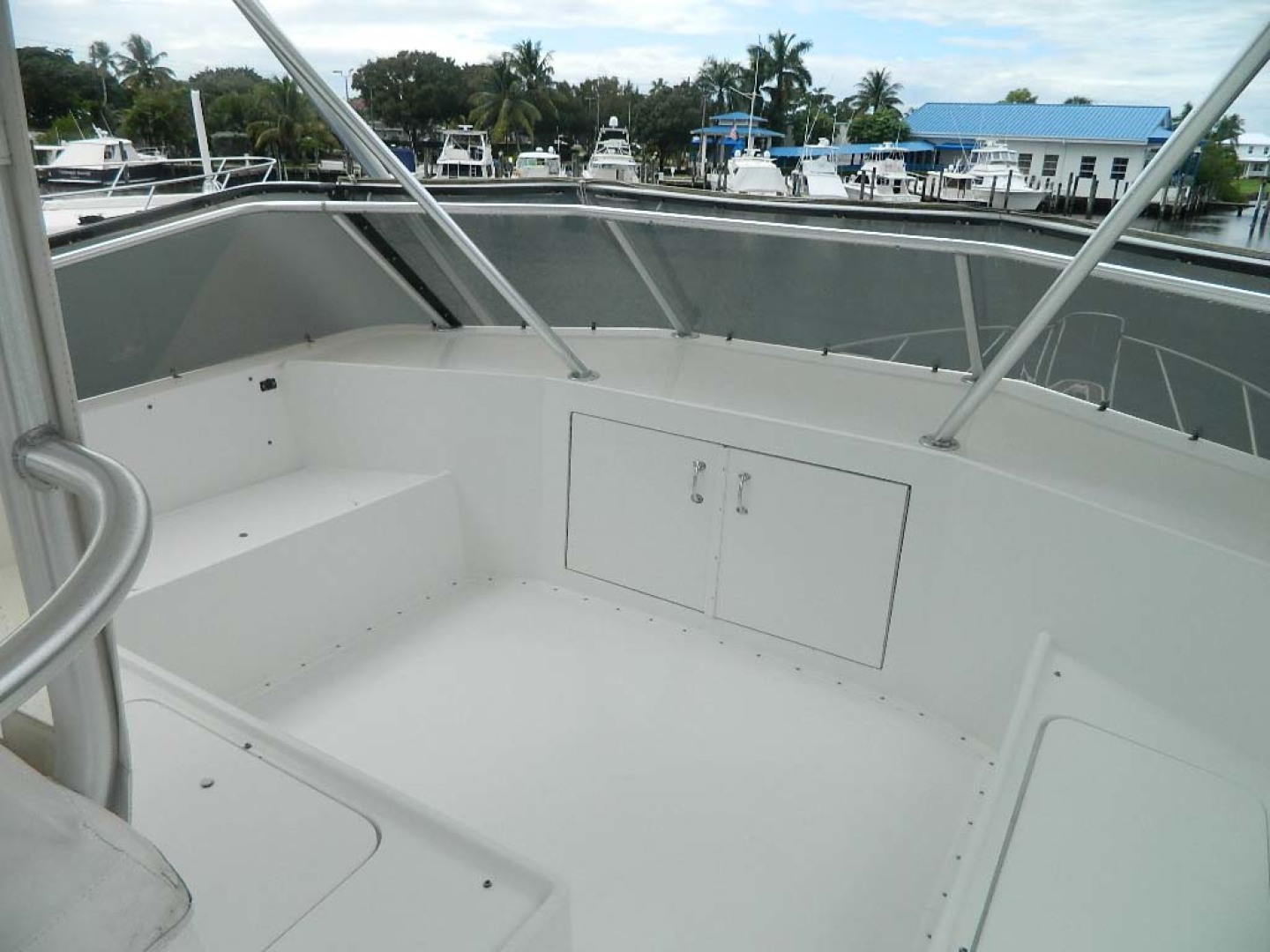Hatteras-52 Sport Fisherman 1988-Iron Will Stuart-Florida-United States-Flybridge Seating-1251605 | Thumbnail